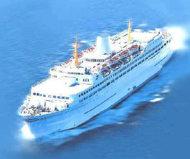 Casino passenger ship, gaming vessel for sale or charter - in class - solas compliant - ready to go