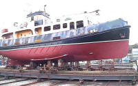 Built by Gregson at Blyth using the Clovelly class design.