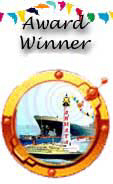 shipping award white